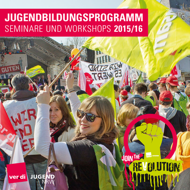 Jugendbildungsprogramm 2015/16 der ver.di Jugend NRW